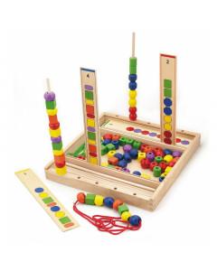 Lesena Igrača - Logične Kroglice 104 kos  - 56182 - Viga Toys