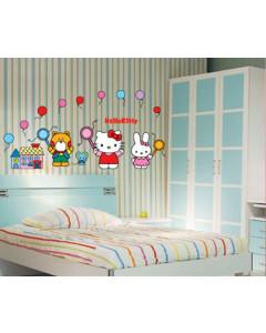 Stenske Nalepke za Otroke - Hello Kitty - HL939 - 33x60cm