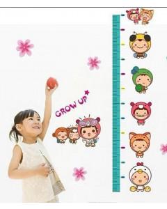 Stenske Nalepke za Otroke - Izmeri Koliko si Velik - XY-8062 - 50x70cm