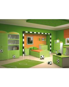 Otroška Soba Baggi z Dvo Delno Omaro - Sport
