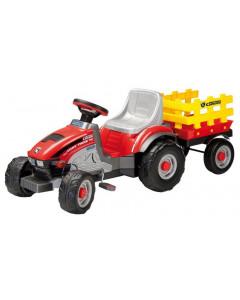 Traktor na Pedala Mini Tony Tigre s Prikolico - Peg Perego