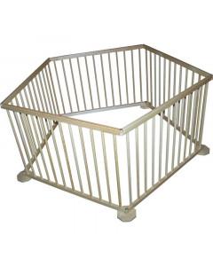 Lesena Varnostna Ograja Alfaplus Razdeljevalec sobe - Otroška stajica Alfa5 + 1 Vratca - 206B