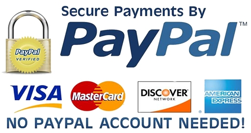 Paypal - no account needed